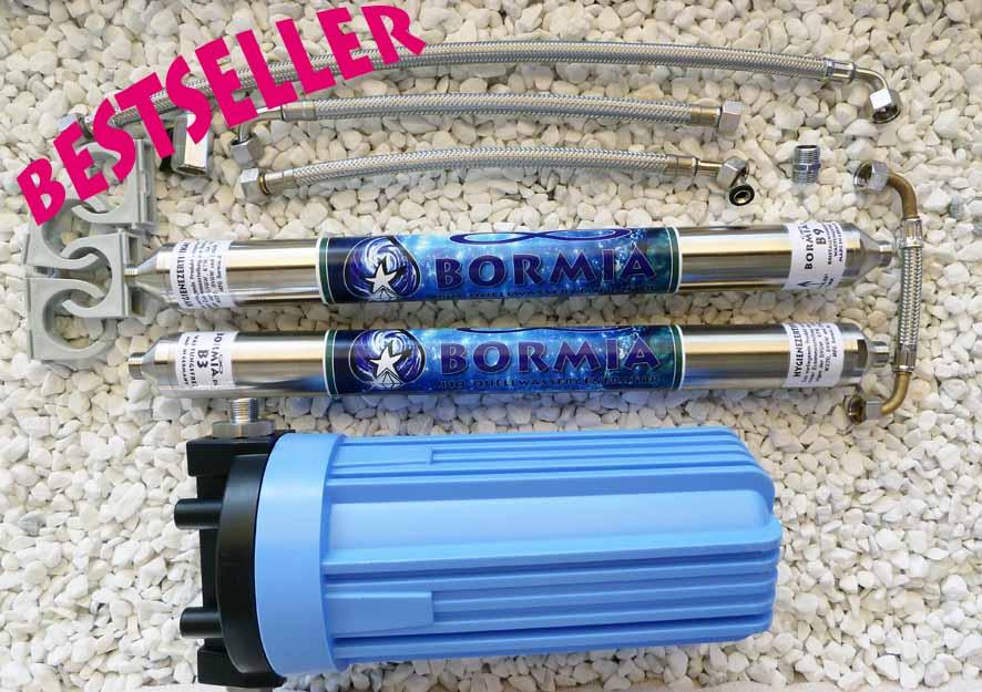 Bormia Bio Quellwassergeneratoren gibt es in verschiedenen Ausführungen